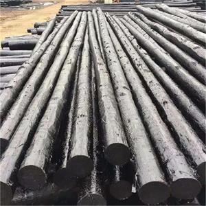 现货供应防腐油木杆6米-10米