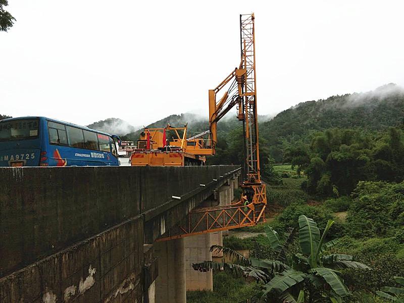 张家口22米桥梁检测车出租优点